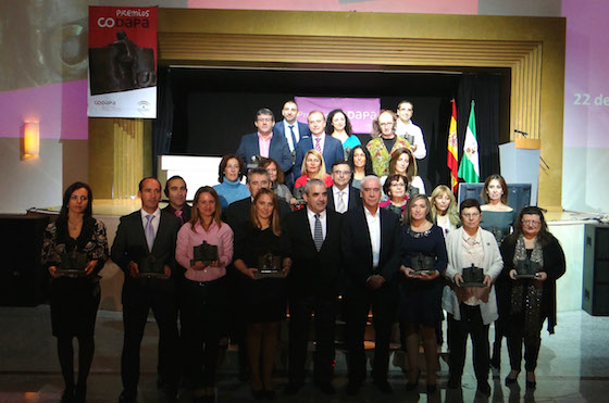 xii premios codapa - foto familia